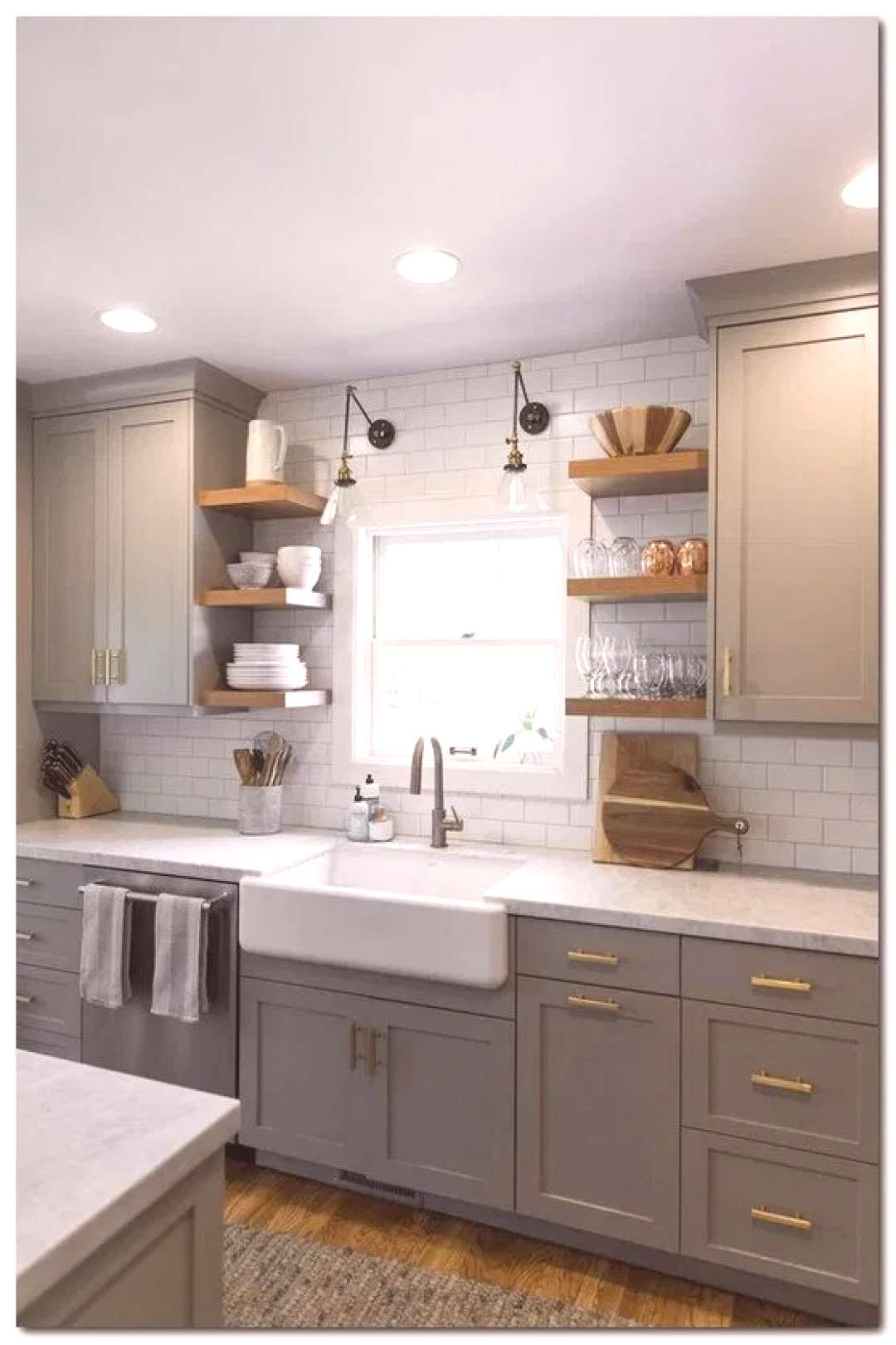 15 Clever Small Kitchen Remodel Open Shelves Ideas 15 Clever Small Kitchen Remodel Open Shelves Ide