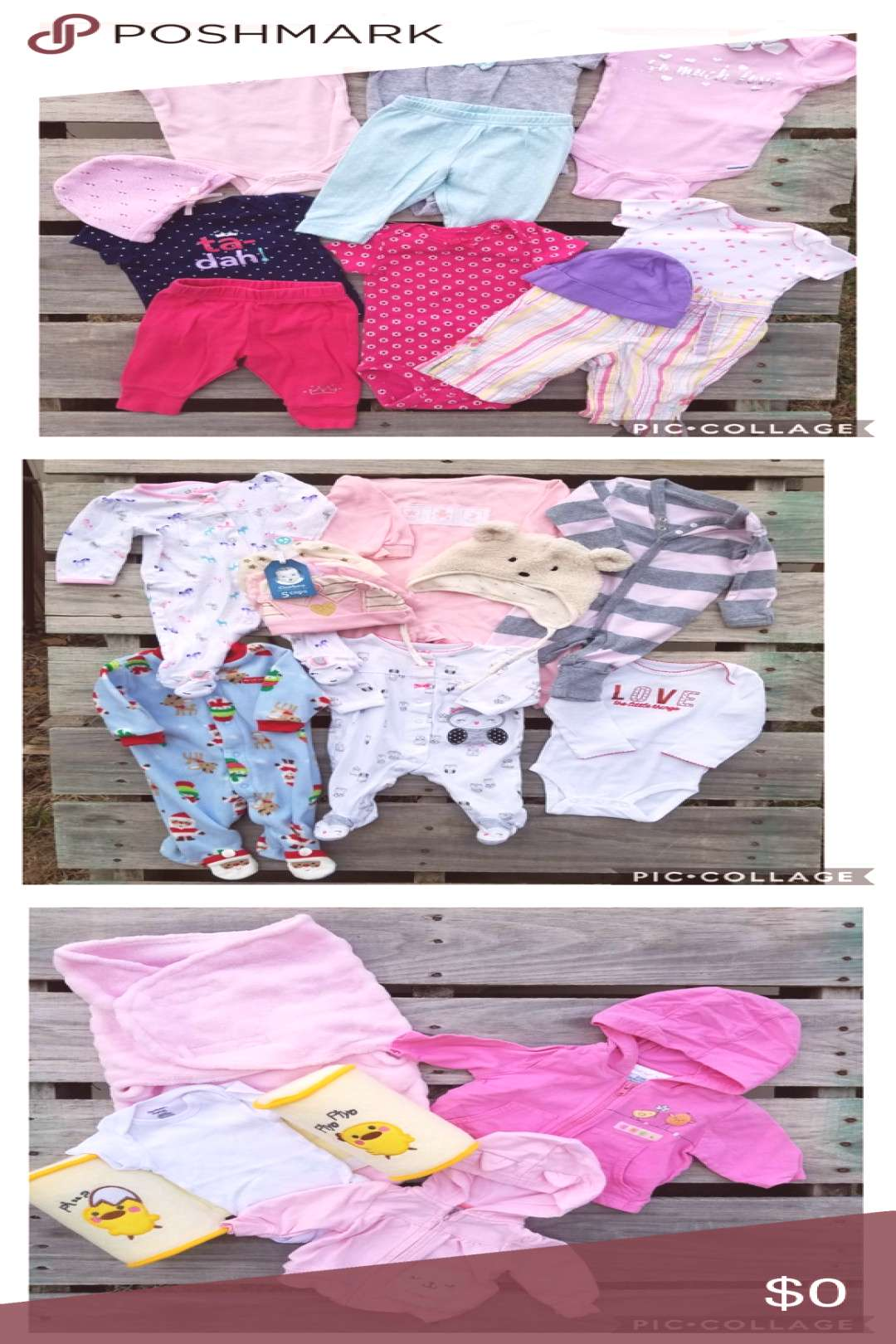 3 Bundles for $30! ??Onesies amp Blanket? ⭐️Everything is NWT!! This... - -