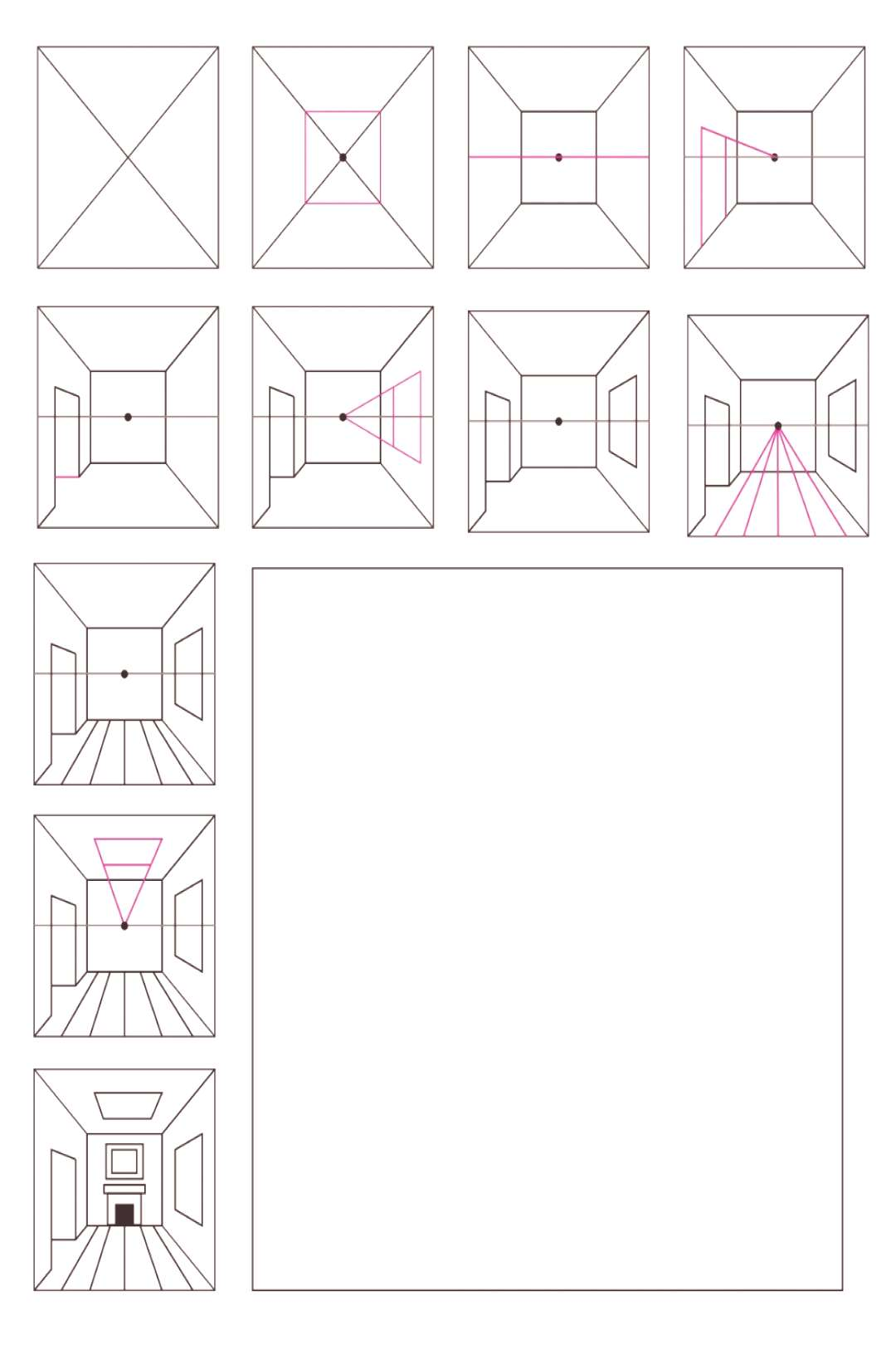 3 Ways to Teach 1-Point Perspective ...