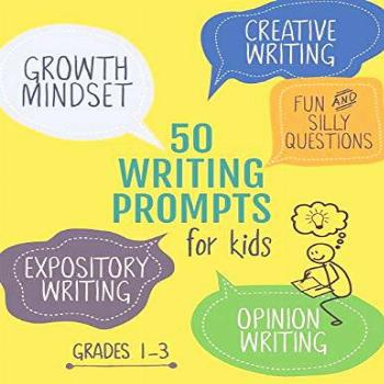 50 Writing Prompts for Kids: Growth Mindset Questions  