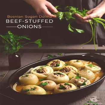 Beef-Stuffed Onions Recipe (Sogan Dolma) | All that's Jas Looking for an easy comfort meal from aro