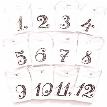 Best Seller JumpOff Jo Baby Milestone Onesies, 12 Bodysuit Set, Seize The Moment...#baby