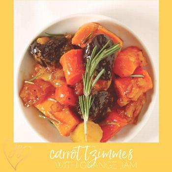 Carrot Tzimmes With Orange Jam Carrot tzimmes is a classic Jewish holiday dish. In this quick and e