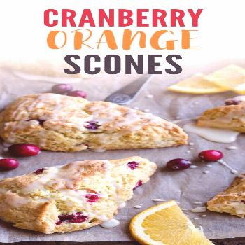 Cranberry Orange Scones These Cranberry Orange Scones are the best fall scones you'll ever have!