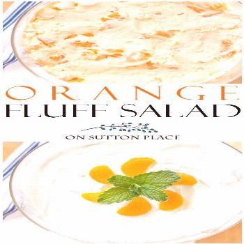Delicious and refreshing Orange Fluff Salad Recipe that's quick & easy. An orange jello salad that