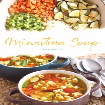 Do you love homemade soup? You just and — add water and spices. Simmer for a bit, and you'll have