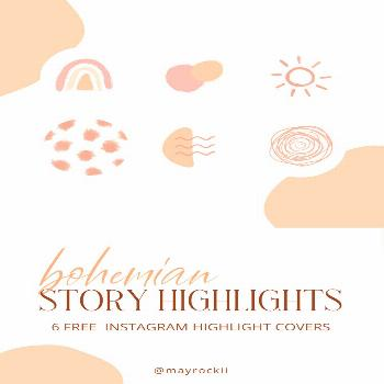 Free Instagram Highlight Covers Free Instagram highlight covers to freshen up your account. media