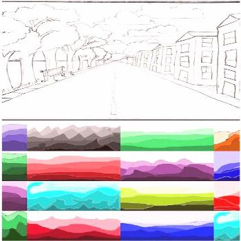 how to draw one-point perspective