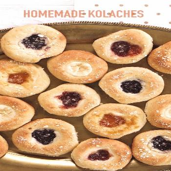 How To Video! Homemade Kolaches-Making your own delicious is much easier than you think. This sweet