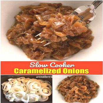 If you love caramelized onions, now you can make them in your slow cooker. Once you make a big batc