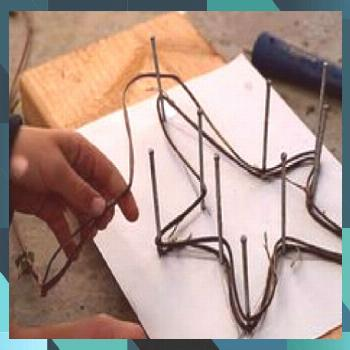 Make a Whitewashed Star for Valentine's Day - The Magic Onions and crafts crafts day crafts crafts