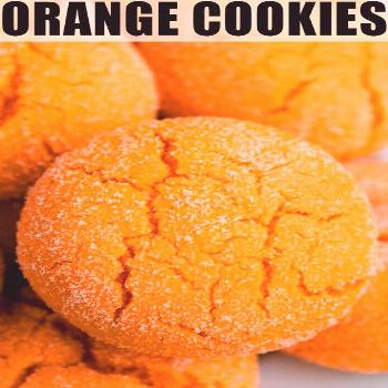 ORANGE COOKIES RECIPE- Quick, easy, soft and chewy, best, old fashioned, homemade with simple ingre