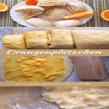 Orange rolls - recipe for tender biscuits with fruity filling ... - -