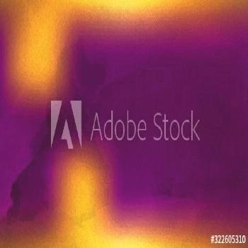 Purple and Orange Watercolor Background Texture Image ,