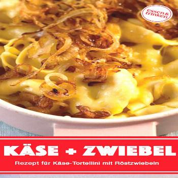 Recipe for cheese tortellini with fried onions -  Today we serve the classic with tortellini! The f