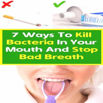 Seven Ways To Kill Bacteria In The Mouth And Stop Breathlessness Remember the iconic lip-locking sc