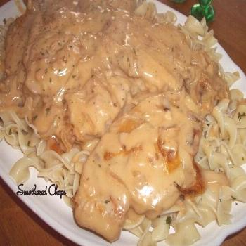 Smothered Chops / Oven or Crock Pot Smothered Chops / Oven or Crock Pot chops soups chop