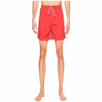 Speedo Sunray Volley (Atomic Red) Men's Swimwear. You're ready for anything that will come your way
