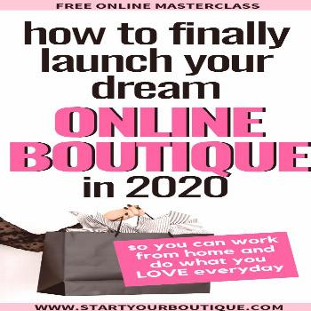 Starting an Online Boutique Ready to launch an online boutique? Enter your name and email address t