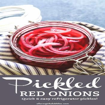 These easy Pickled Red Onions are downright addictive! Learn how to make the best pickled red onion