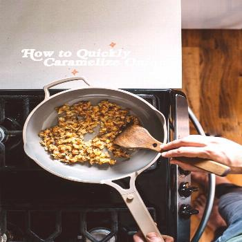 Think caramelizing onions takes FOREVER? Not anymore! We've got the 411 on how to quickly carameliz