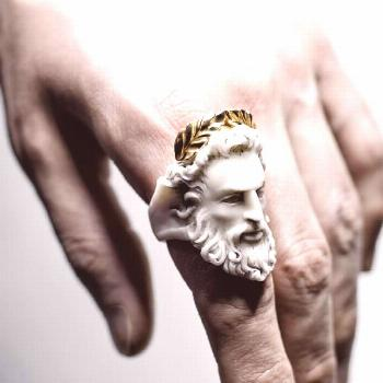 ZEUS RING by Macabre Gadgets | MARBLE & GOLD  Macabre Gadgets Online Boutique: store-