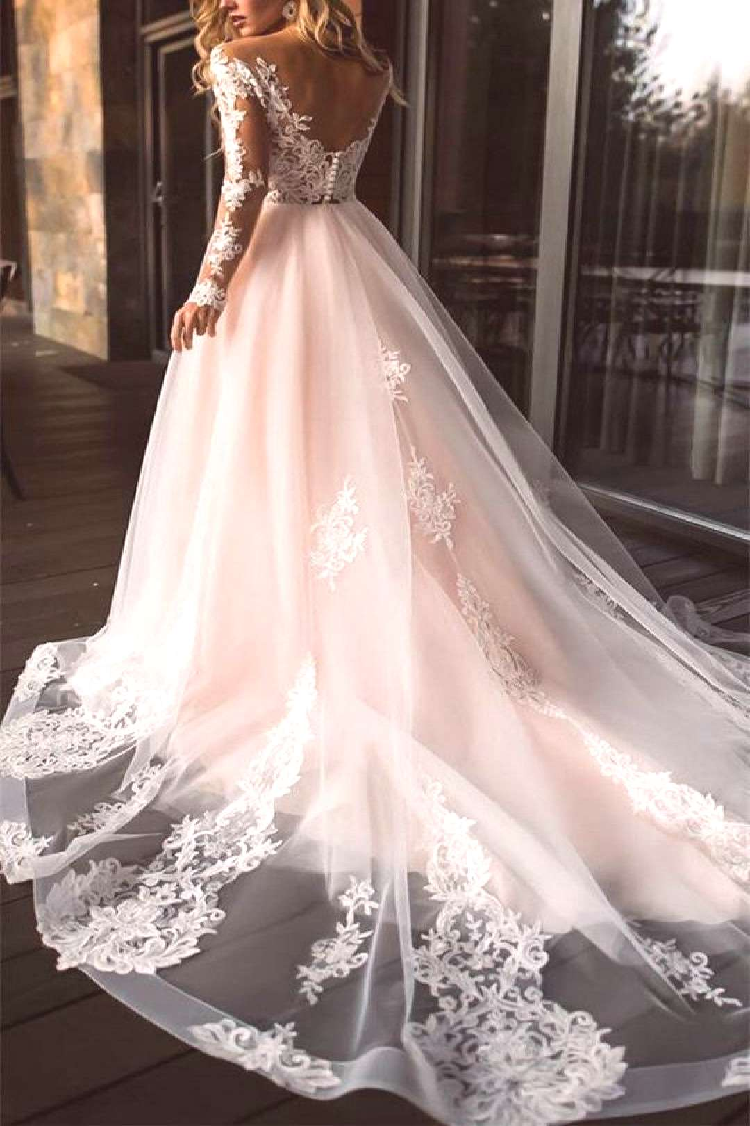 +51 Untold Stories on Dream Wedding Dress Lace Open Backs Long Sleeve You Need to Read or Be Left O