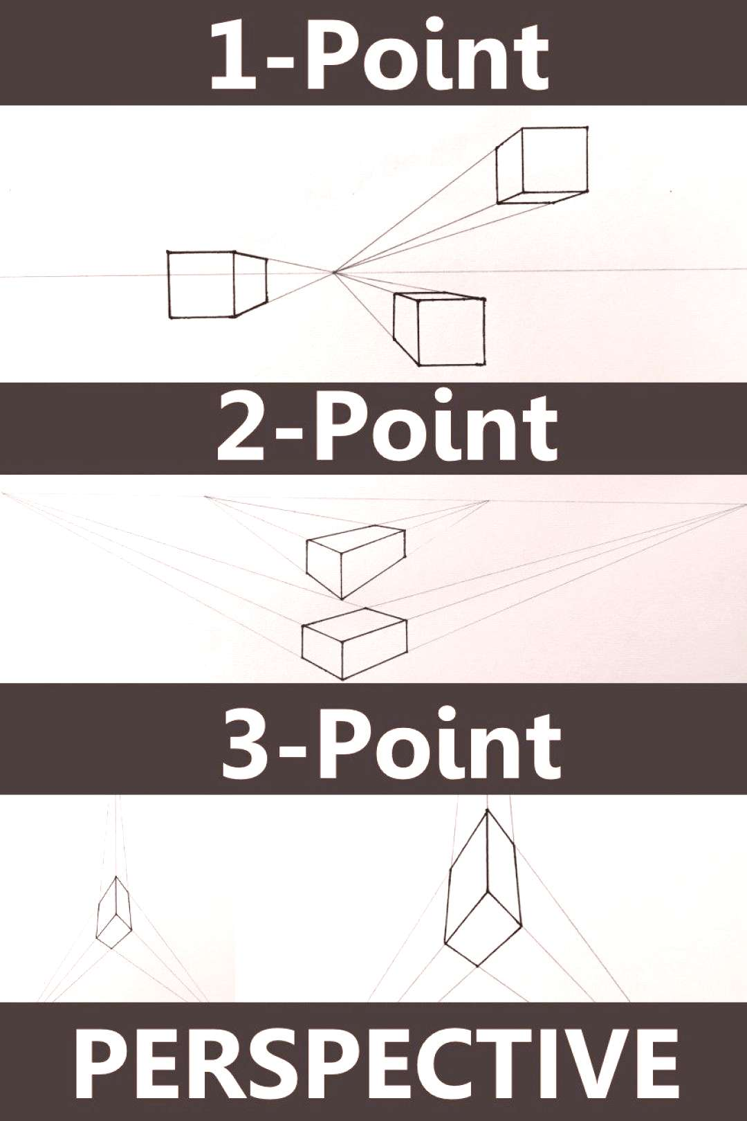Beginners Guide to Perspective Drawing Learn to draw in linear and atmospheric perspective. One, tw