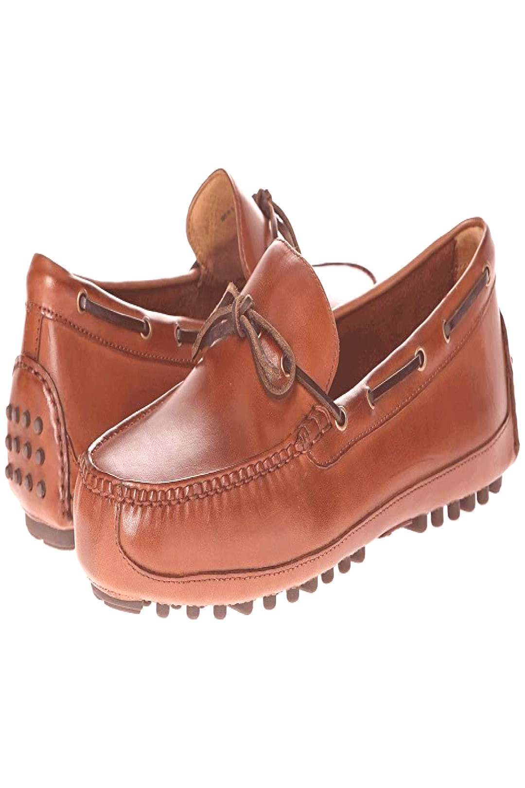 Cole Haan Grant Canoe Camp Moc (Papaya) Mens Slip on Shoes. Revamp your signature style with the
