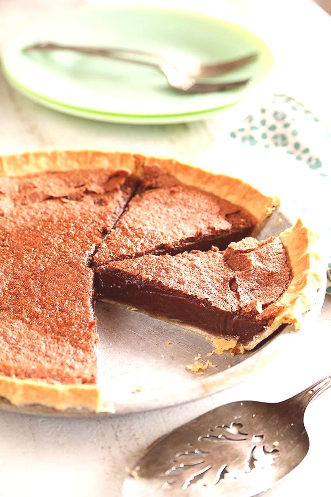 Food Photography Chocolate Chess Pie Have you ever known that we have found the Mafias best Itali