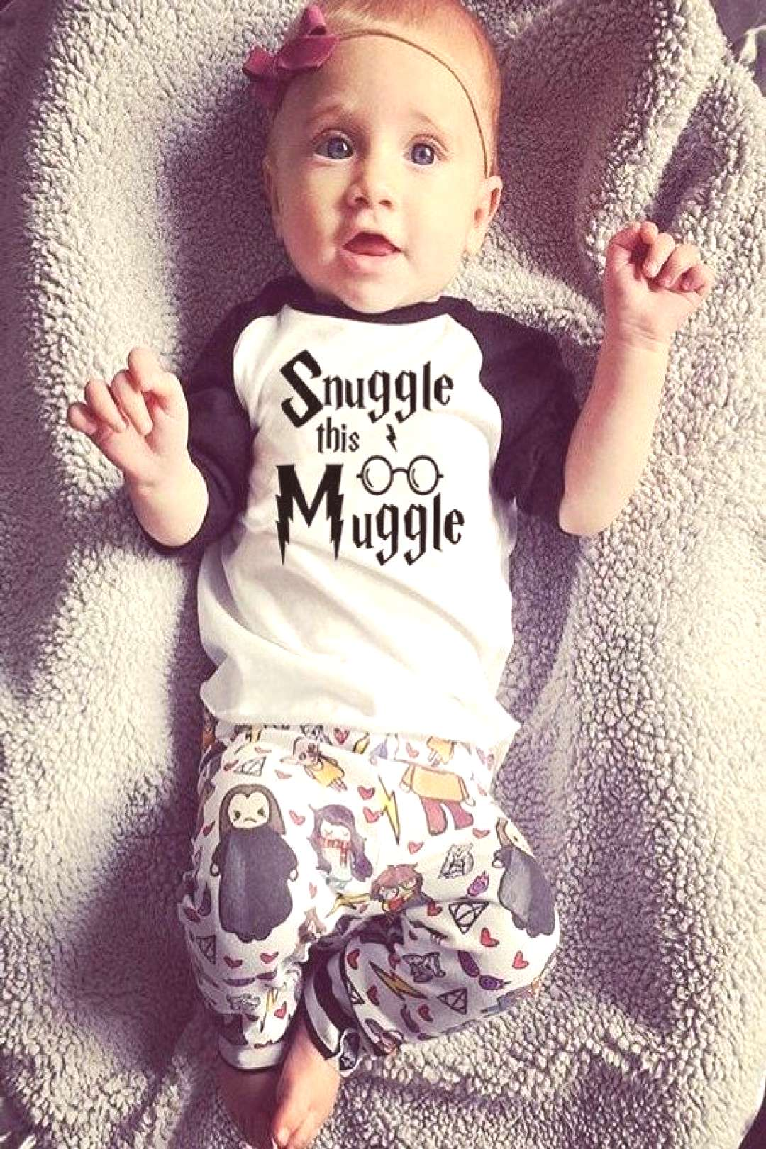 Harry Potter Onesies Harry Potter Baby Clothes Harry Potter Snuggle This Muggle Iron OnCute Babyamp