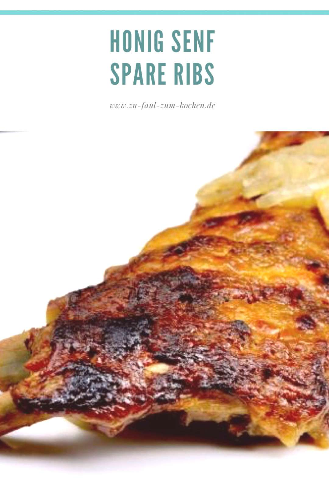 Honey Mustard Spare Ribs with Onions - Too Lazy to Cook? Honey Mustard Spare Ribs with Onions - Too
