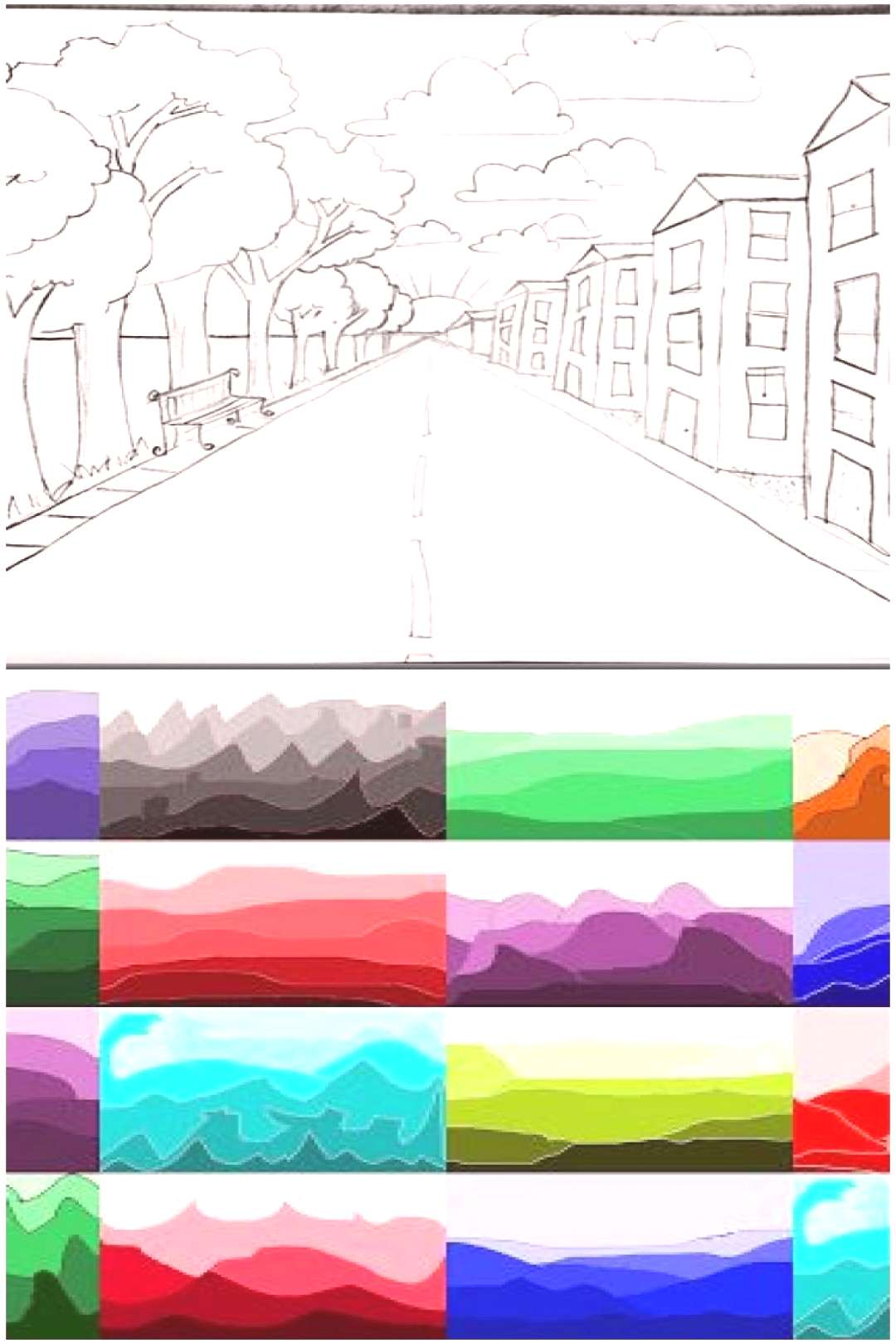how to draw one-point perspective how to draw one-point perspective,