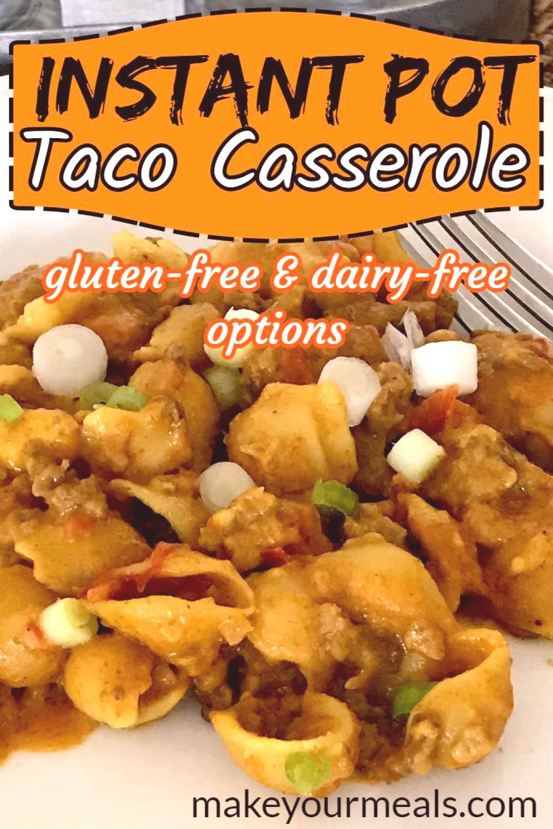 Instant Pot Taco Casserole Instant Pot Taco Casserole - made in minutes. Plus gluten-free and dairy
