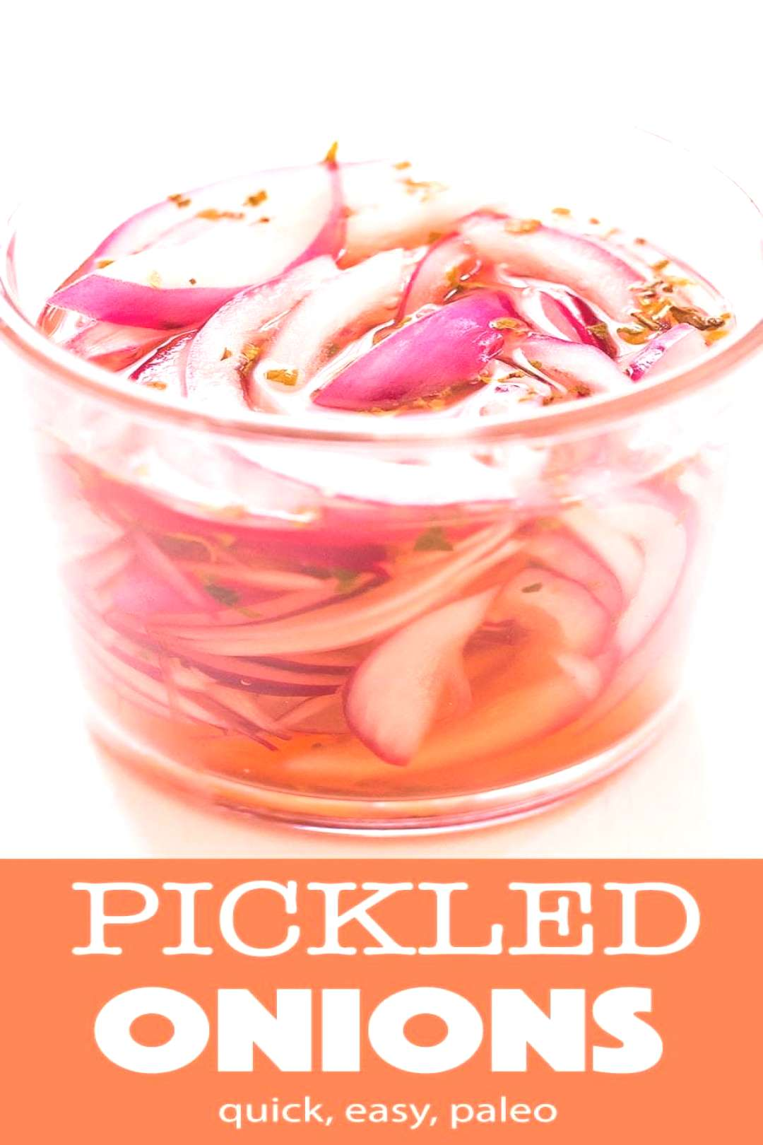Learn how to make quick pickled onions and in less than 1 hour you have a delicious, crunchy condim