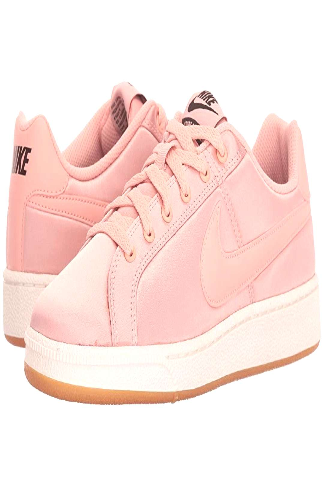 Nike Court Royale Satin (Coral Stardust/Coral Stardust/Sail) Womens Shoes. Show us how fancy you