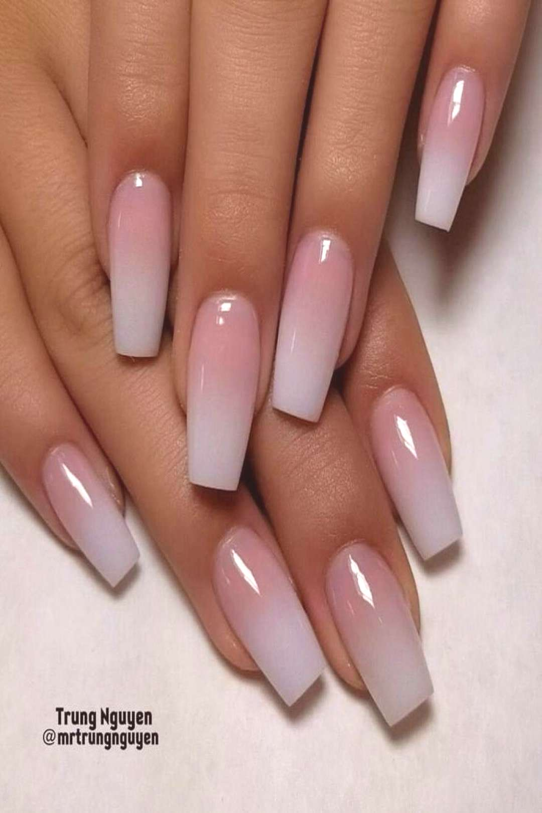 Ongles Gerichte simples ombrenails allacrylic coloracrylic nails  Nagel Des