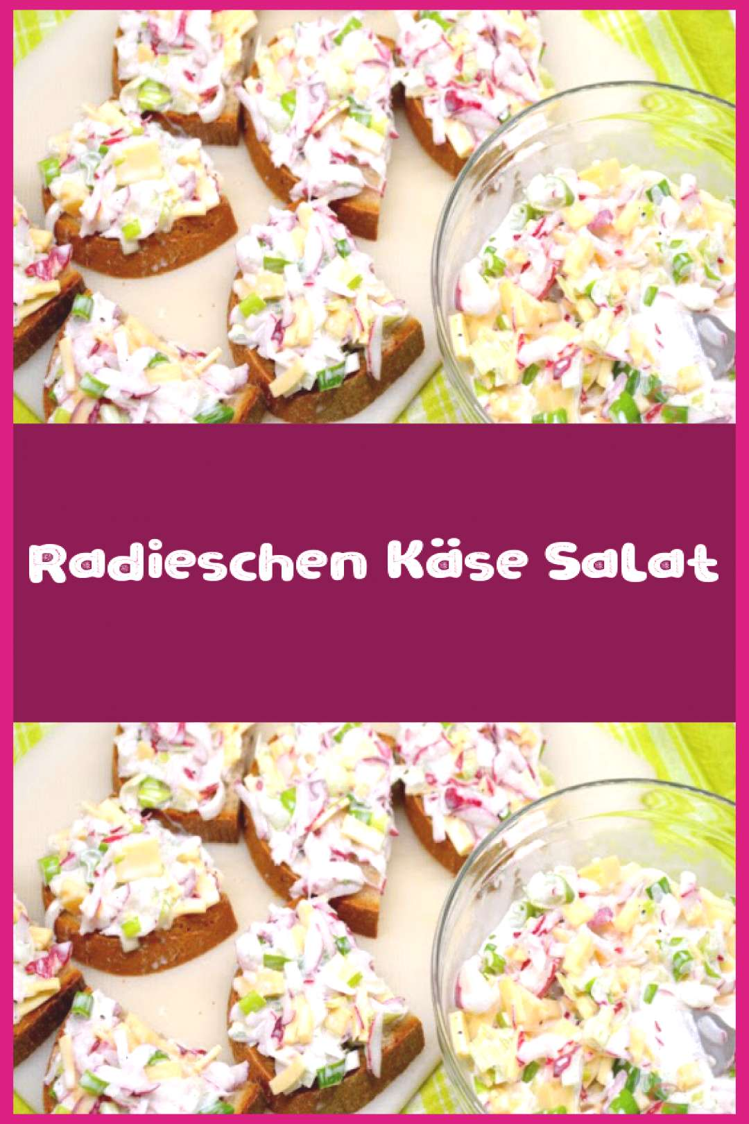 Radish cheese salad - ingredients 2 bunches of radishes 1 bunch of spring onions 10 ...,Radis... Ra