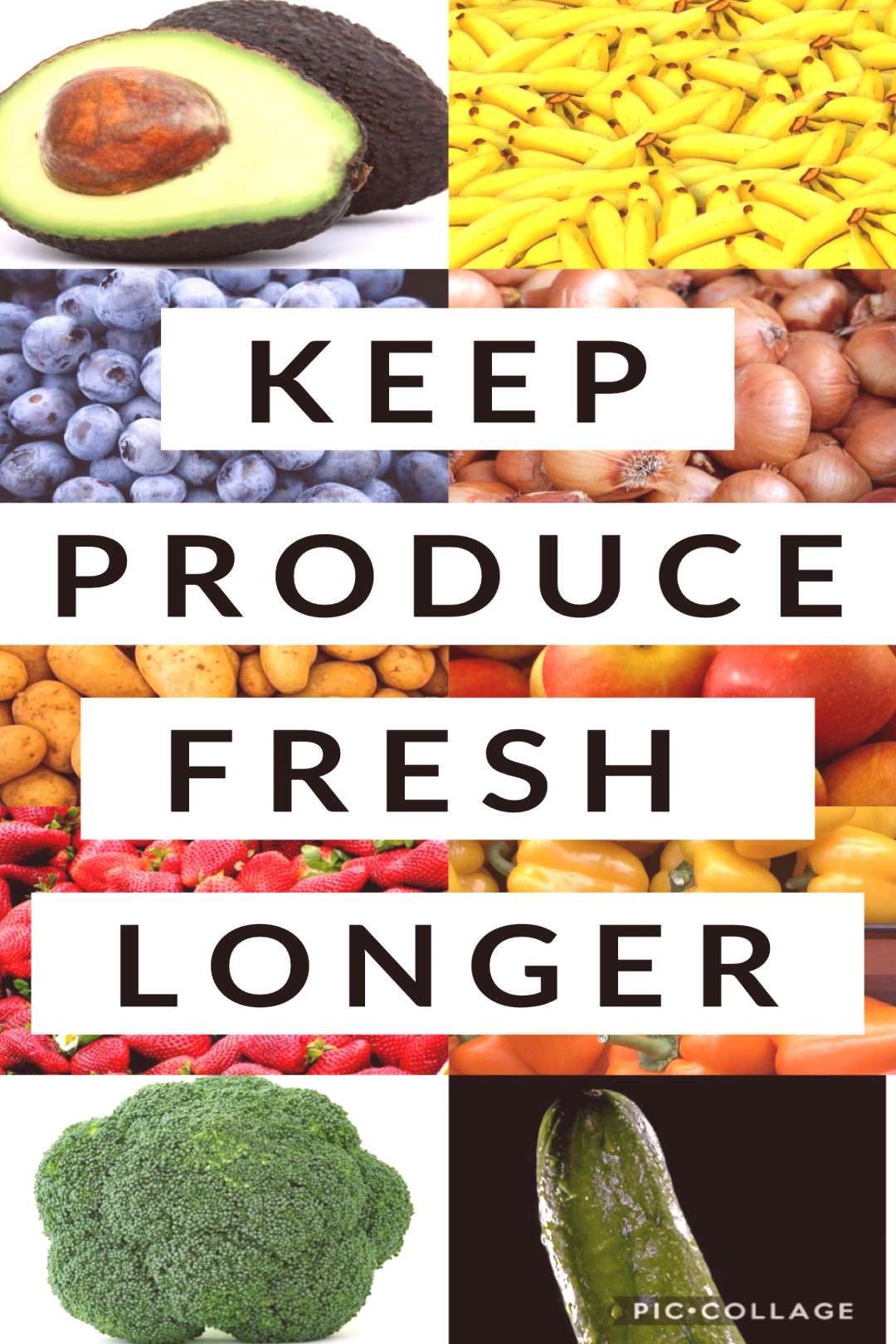 The Best Ways to Store Vegetables and Fruit Produce to Keep it Fresh