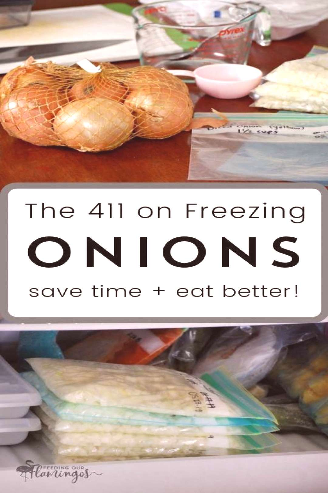 The single best thing you can do to speed up your cooking process is keeping onions in the freezer.