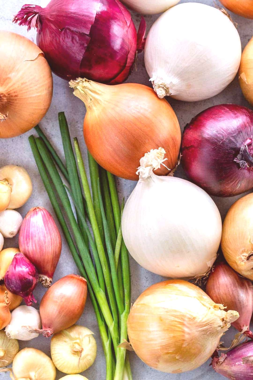 There are several types of onions and you can use most of them in similar ways, but they all have t