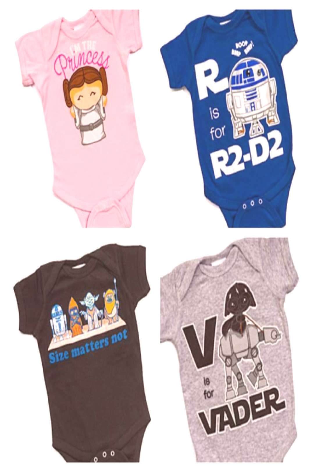 Think geek baby onesies why couldnt i find these when my little girl was b - Star Wars Onsies - Id
