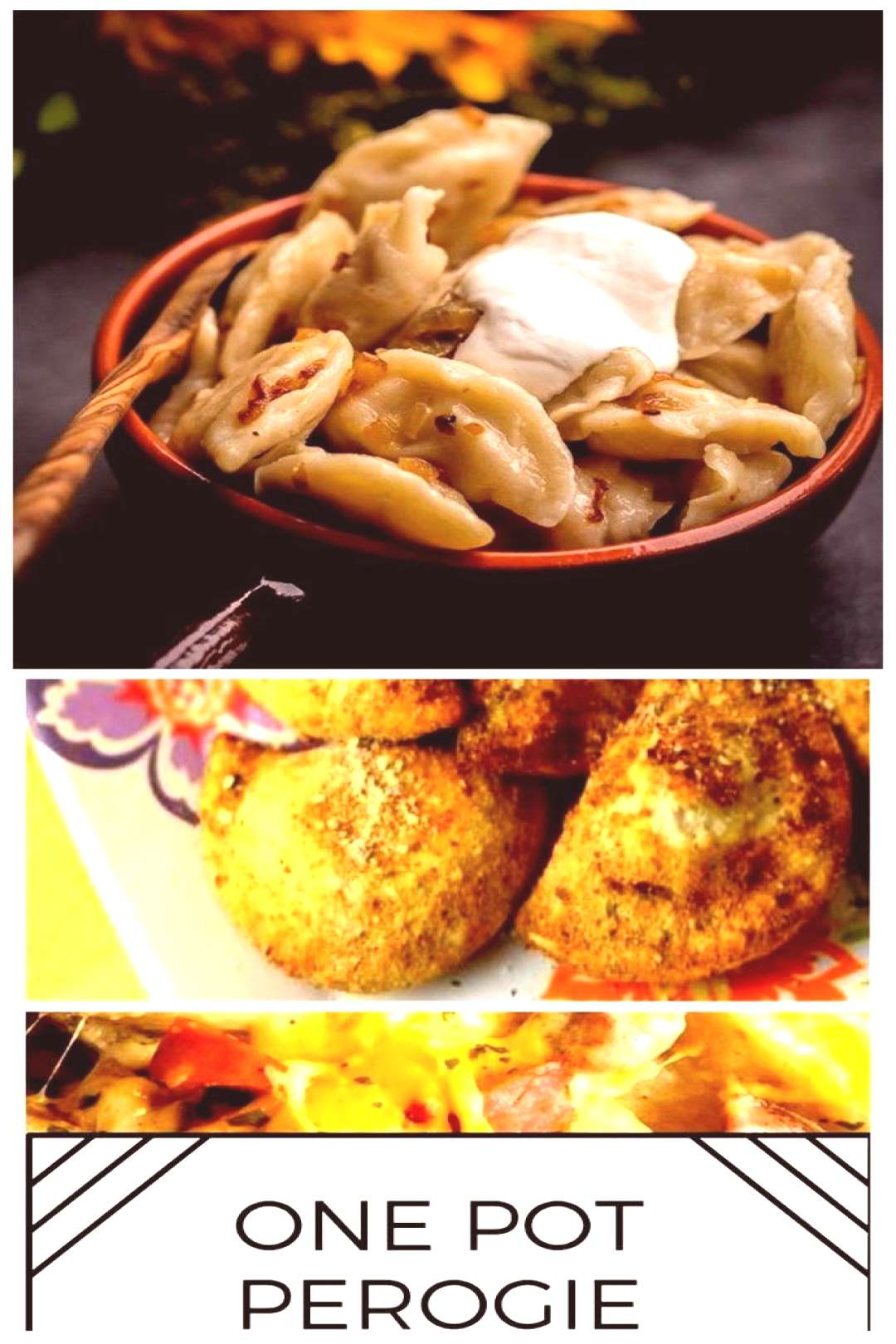 This Potato Perogies Recipe with caramelized onions is simple, delicious and a p... This Potato Per