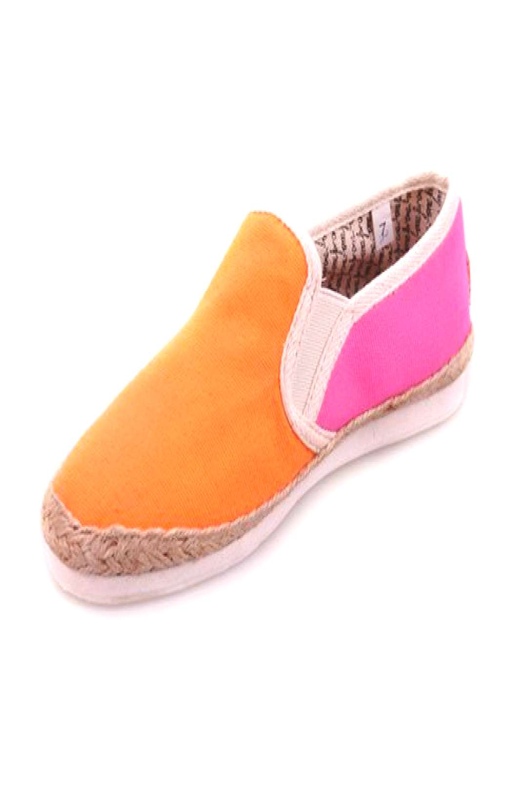Toms Flax Weaving Mixed Color Schuhe Frauen in Orange und Pink Toms Outlet, Ihre ... - Toms Flax