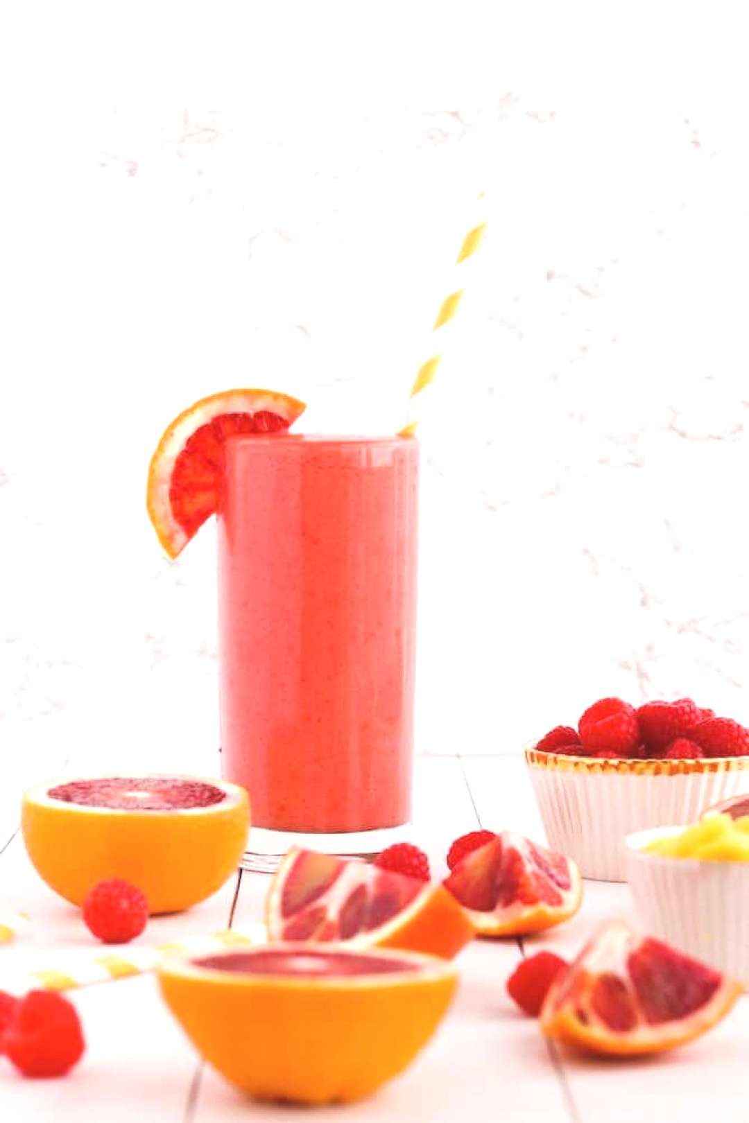 Tropical Blood Orange Smoothie Tropical Blood Orange Smoothie recipe, start your day with this colo