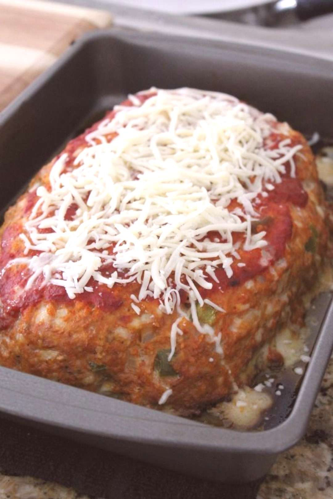 Turkey Meatloaf Recipe with Sausage, Peppers, and Onions - Italian Sausage Peppers Meatloaf. Lean